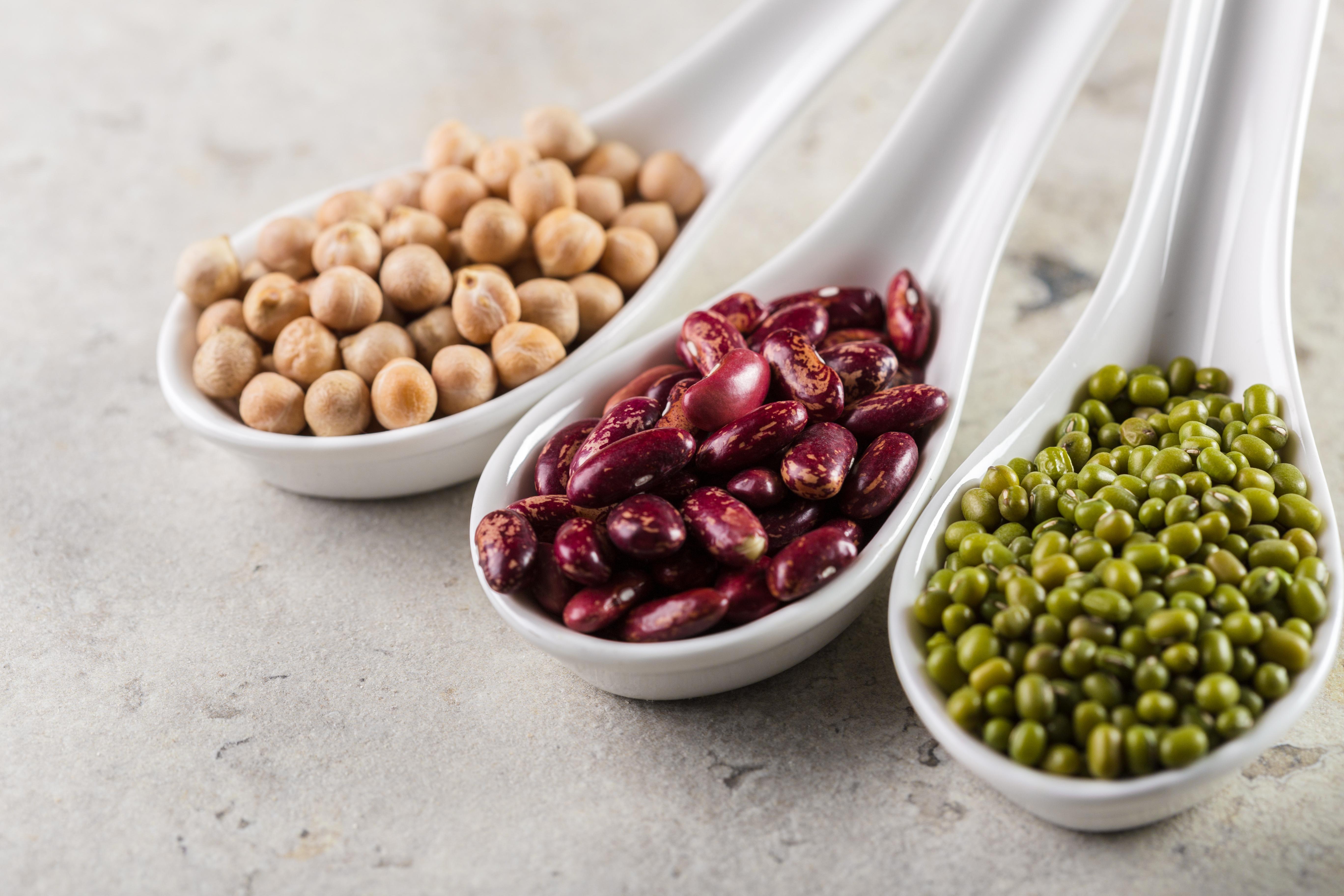 vegetabiliskt protein bönor ärtor